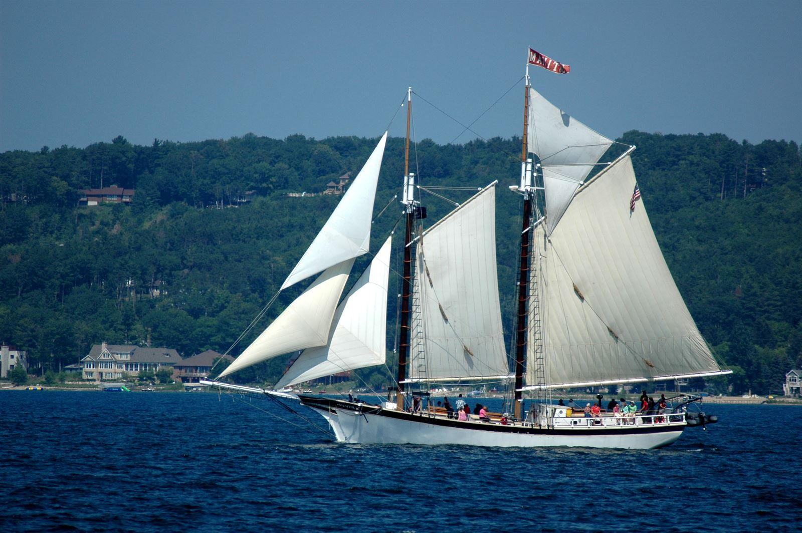 Tall Ship Sailing in Traverse City